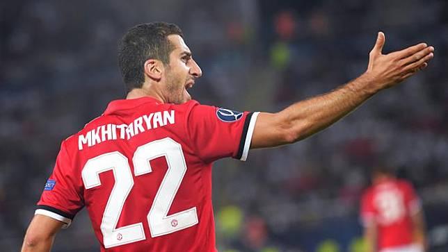 Mkhitaryan Ternyata Sering Berkonflik dengan Jose Mourinho Saat Masih di Manchester United.
