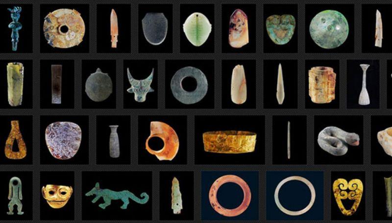 三千年前到底是用甚麼技術,能雕琢高硬度的玉石?至今仍未解。(圖片來源 金沙遺址官網)