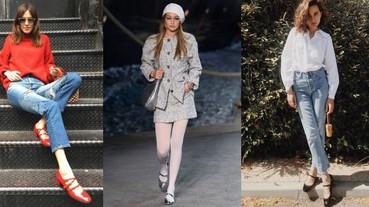本季最夯的瑪莉珍鞋,想扮少女絕對要來一雙粗跟款!