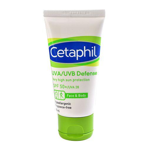 【Cetaphil舒特膚】極緻全護低敏防曬霜SPF50+ (50g)x3入組