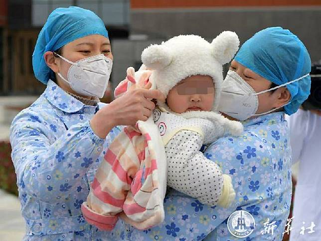 ทารก 7 เดือน ผู้ป่วย 'โควิด-19' อายุน้อยสุดในฉงชิ่ง หายดี-ออกจากร.พ.แล้ว