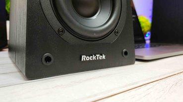 「藍牙喇叭開箱」Rocktek RT-SP01 – 書架型藍牙喇叭,清晰自然的好聲音
