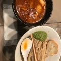 海老トマト玉子つけ麺 - 実際訪問したユーザーが直接撮影して投稿した千駄ケ谷つけ麺専門店つけ麺 五ノ神製作所の写真のメニュー情報