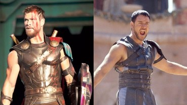《雷神索爾 3》競技場被指抄襲「神鬼戰士」 克里斯漢斯沃超戲謔回嗆!