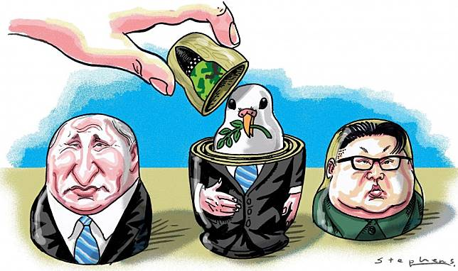 Vladimir Putin should make the most of his summit with Kim Jong-un, and propose a modernisation-for-peace deal
