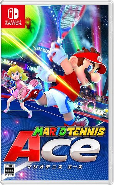 NS 瑪利歐網球 王牌高手 Mario Tennis 中文版 中文封面