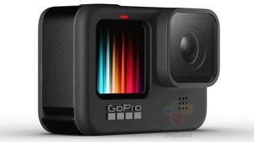 疑似 GoPro Hero 9 Black 官方渲染圖現身,正面具備彩色螢幕