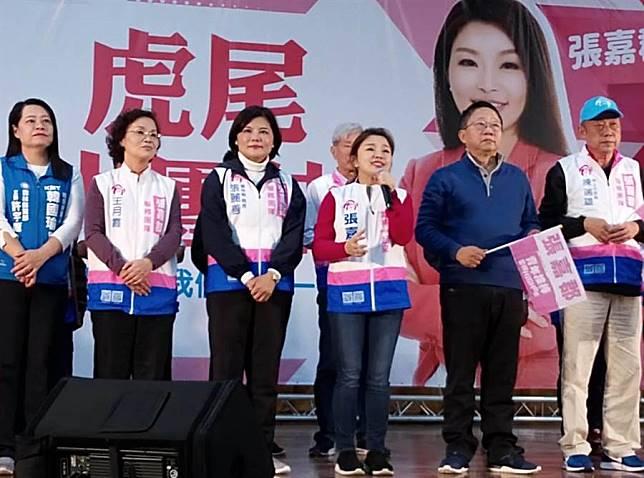 張嘉郡虎尾團結大會,雲議長:韓贏百萬票不是「豪消」!
