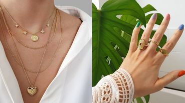 亞洲女生戴金色飾品更顯白!二千有找的超高質感金色戒指、項鍊、手鍊精選,輕鬆打造高級女人味