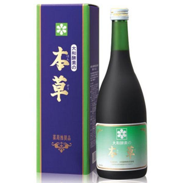 大和酵素 大和本草酵素原液720cc *6瓶(日本原裝進口)
