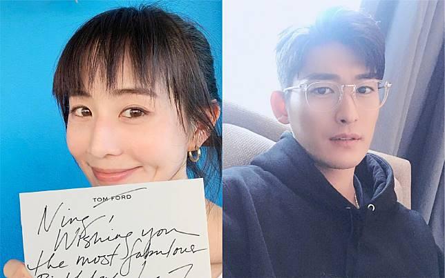 ▲張鈞甯(左圖)、張翰被傳已領證結婚。(圖/翻攝微博)