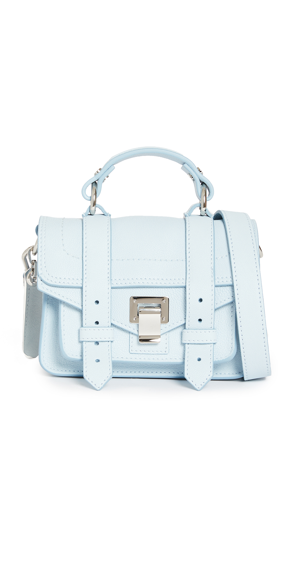 Proenza Schouler PS1 Micro Bag Baby Blue One Size