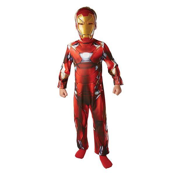 美國漫威原廠 iron man 鋼鐵人經典裝扮組合(兒童款)