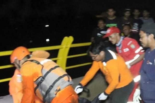 Korban tenggelam di Kali Cisadane dievakuasi