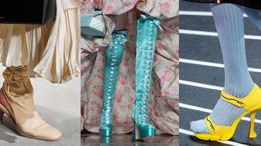 【2020 FW米蘭時裝周】Moschino打造「瑪麗王后」夢幻鞋款、Prada重塑運動跟鞋!2020米蘭時裝周鞋款精選
