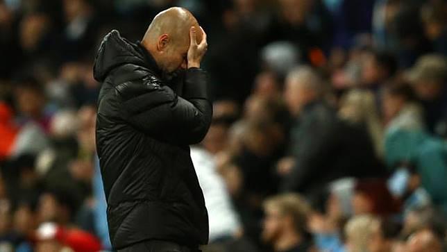 Pep Guardiola Dihadiahi Kartu Kuning Saat Manchester City Vs Dinamo Zagreb