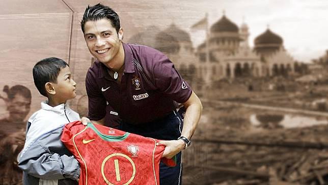 Apa Kabar Martunis Korban Tsunami Aceh yang Jadi Anak Angkat Cristiano Ronaldo