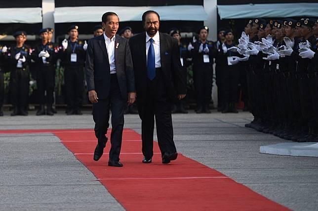 Minim oposisi, NasDem: Pemerintahan Jokowi berpotensi zalim