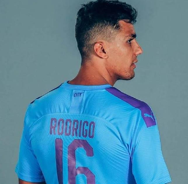 Pemain Manchester City, Rodri. (instagram/@mancity)