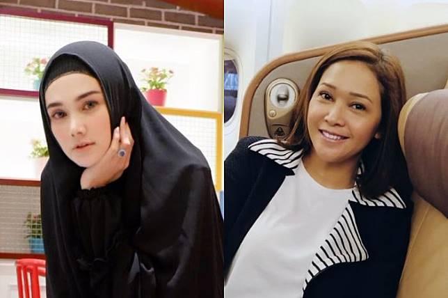 Mulan Jameela  dan Maia Estianty