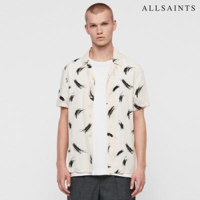 STROKE 印花短袖襯衫 對比鮮明的筆刷印花為設計 可單穿或內可搭配 經典的夏威夷襯衫單品