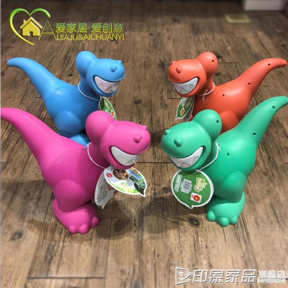 Modern house環保材質 卡通耐摔兒童節禮物玩具恐龍存錢罐 儲蓄罐 印象家品旗艦店