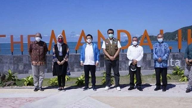 Menteri Suharso Monoarfa kunjungi Mandalika, Lombok