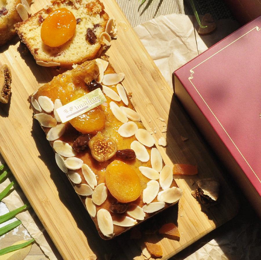 【阿瑪迪斯蛋糕】水果晶鑽磅蛋糕
