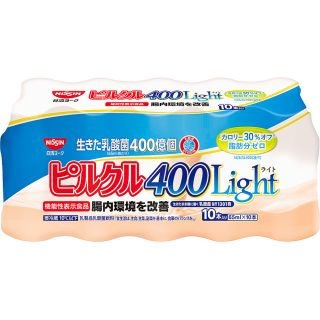 〈日清ヨーク〉ピルクル400 Light 65ml×10