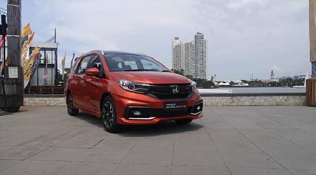 Pengetesan Honda Mobilio di Kawasan Jakarta. TEMPO/Wisnu Andebar