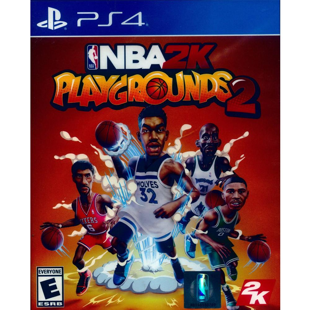PS4 NBA 2K 熱血街球場 2 中英文美版NBA 2K Playgrounds 2商品規格 實體卡‧適用平台:PS4主機(本遊戲無鎖區域,可在所有地區發行之PS4主機上使用遊玩。)‧類型:運動‧