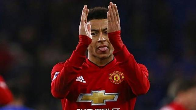 Pemain Manchester United Jesse Lingard. [AFP]