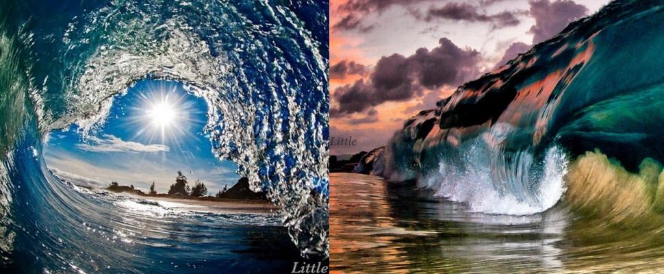 震驚!衝浪攝影師帶你看見海浪最真實的面貌