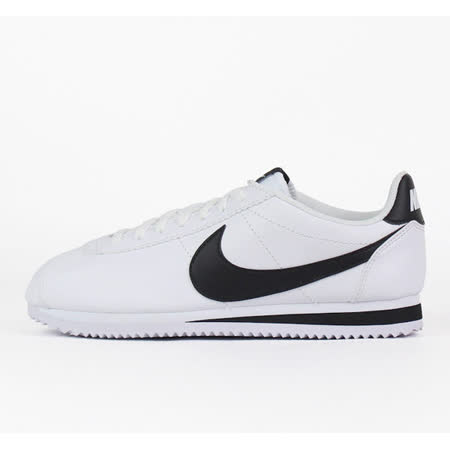 NIKE 男女WMNS CLASSIC CORTEZ LEATHER 阿甘鞋 復古慢跑鞋- 807471101