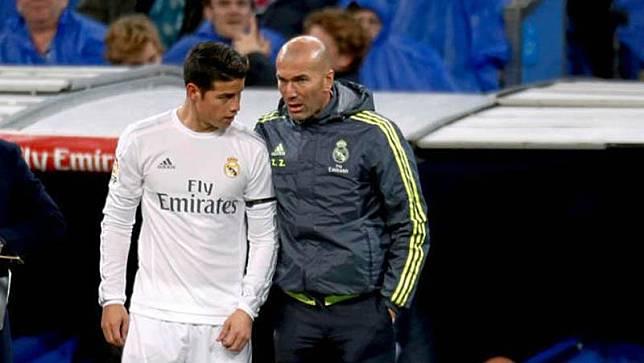 Jawab Keluhan James Zidane Saya Tak Marah Dia Bicara yang Sebenarnya