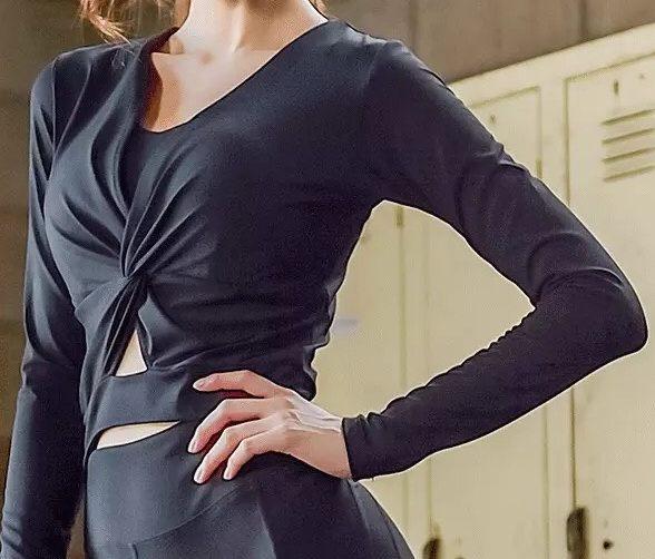 運動休閒外套吸排上衣有氧跑步瑜珈LETS SEA-KOI時尚款必備