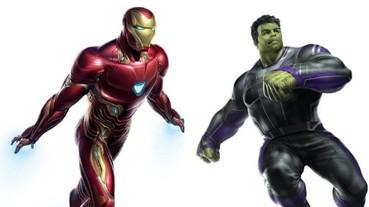 《復仇者聯盟 4》曝光超級英雄戰袍概念圖 浩克居然有衣服穿了!