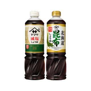 減塩しょうゆ/北海道昆布しょうゆ
