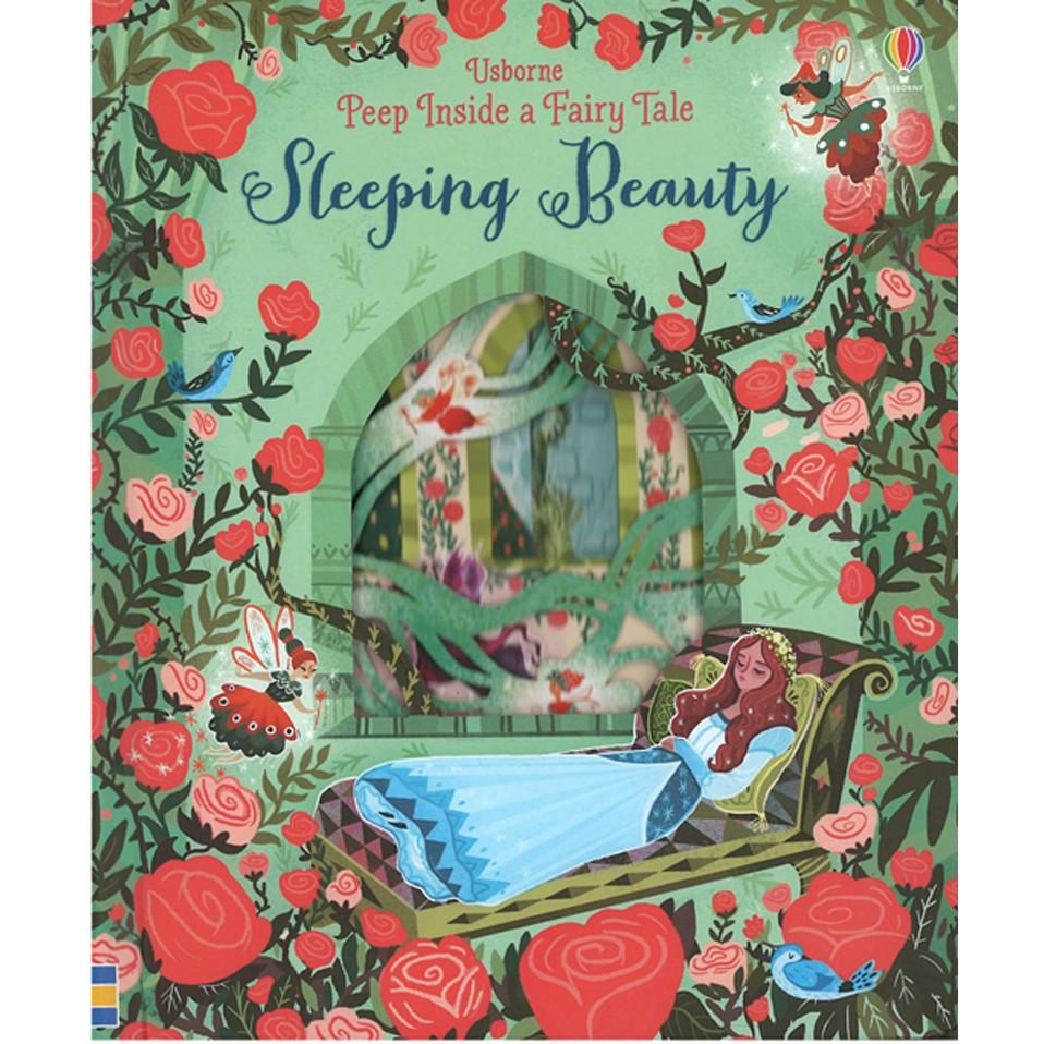【麥克書店】PEEP INSIDE A FAIRY TALE:SLEEPING BEAUTY|偷偷看一下系列之睡美人
