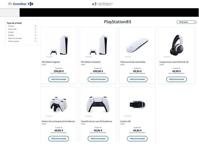Harga PlayStation 5 Bocor Lewat Katalog Carrefour (source: TweakTown)