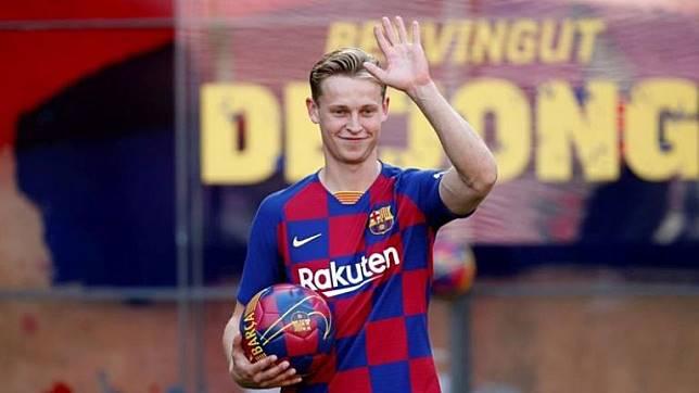De Jong Ingin Trofi Liga Champions bersama Barca