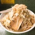 ラーメン - 実際訪問したユーザーが直接撮影して投稿した西新宿ラーメン・つけ麺ラーメン二郎 新宿小滝橋通り店の写真のメニュー情報