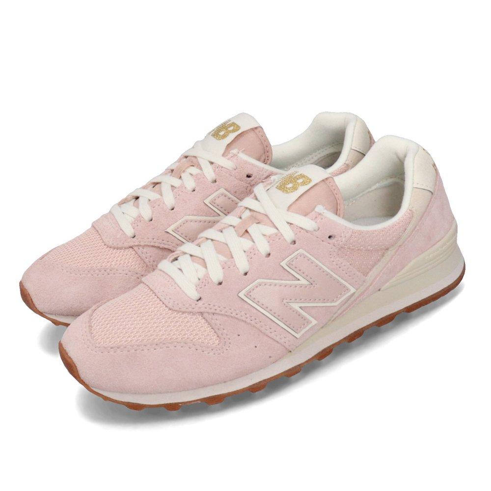 NEW BALANCE 休閒鞋 WL996VHD 復古 女鞋 紐巴倫 麂皮 低筒 小粉鞋 膠底 粉 米 [WL996VHDB]