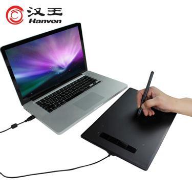 漢王數位板手繪板電腦繪畫板無線兒童通用電子漫畫專業觸摸板小黑