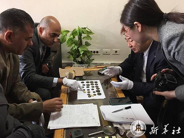 จีน-อียิปต์ร่วมตรวจสอบ 'เหรียญจีนโบราณ' ที่ถูกขโมยไป