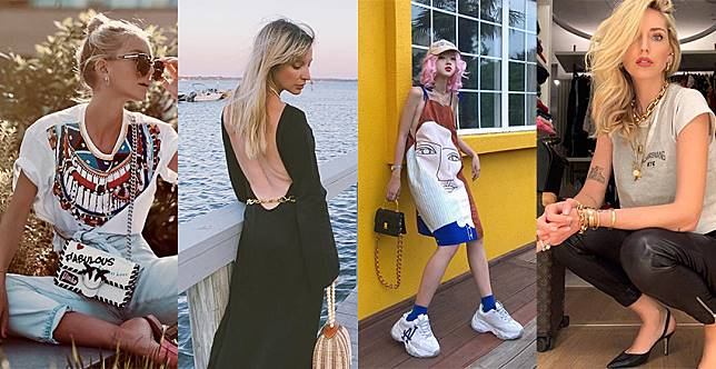土豪炫富的金鏈條原來這麼潮!時尚博主搶搭的鏈條時尚,女孩們catch到了嗎?