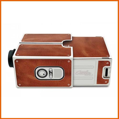 *二代免安裝微型手機投影機/免安裝版無需電源小型家庭娛樂投影 SmartPhone手機簡報