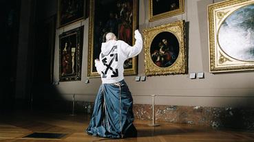 街頭時裝與文藝復興的結合 Off-White 攜手羅浮宮推出達文西聯名服飾