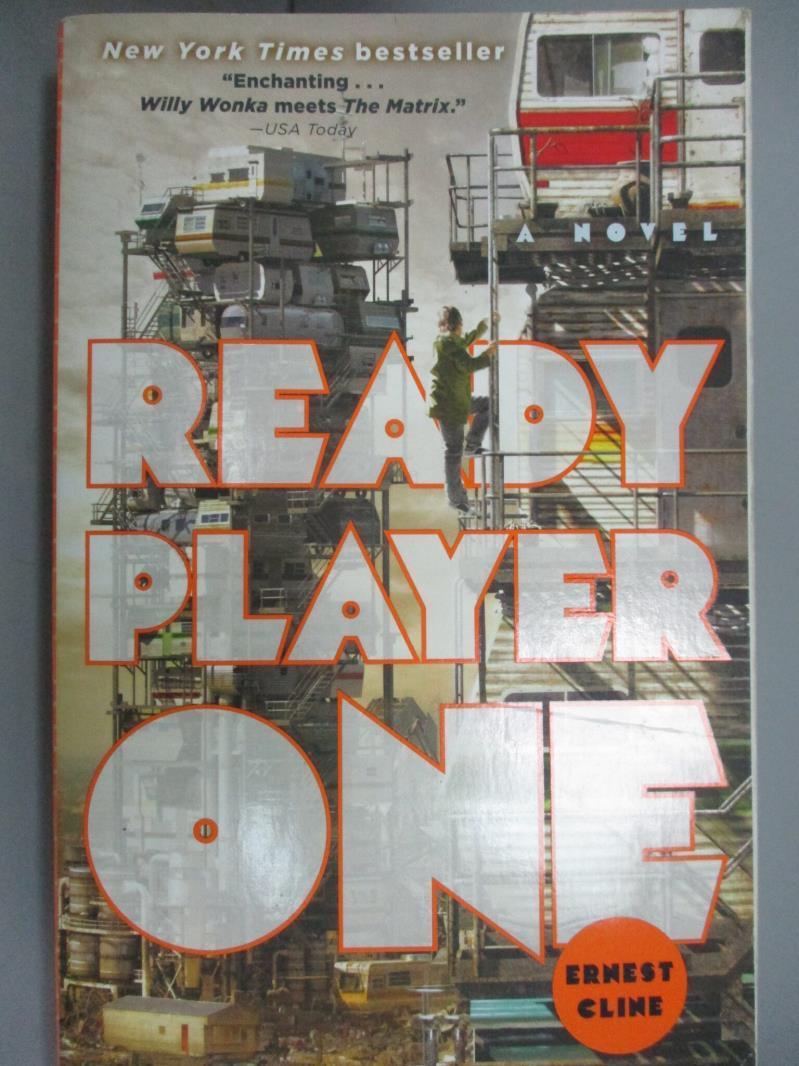 【書寶二手書T1/原文小說_HII】Ready Player One_Cline, Ernest