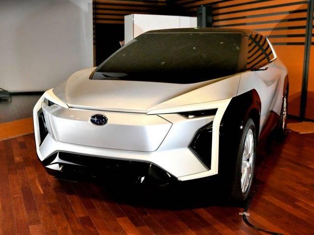 Dikembangkan Bareng Toyota, Begini Tampang Konsep Mobil Listrik Subaru